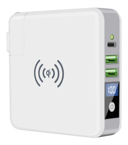 pila recarable para celular portatil carga rapida 10.000mah