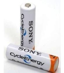 pila recargable aa sony x2 2100ma cycle energy - factura a/b