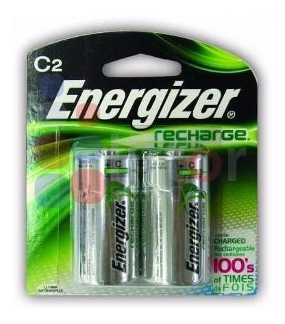 pila recargable energizer tipo c blister new