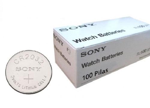 pila sony de litio cr 2032 original 3v tira x 5 und