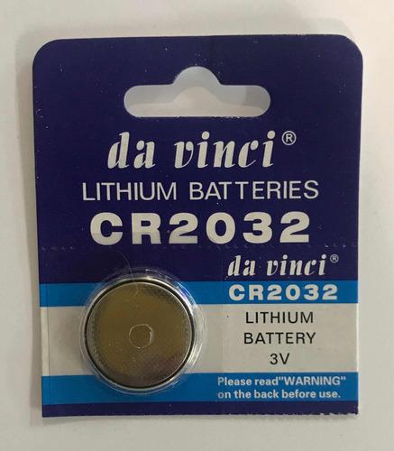 pila tipo botón cr2032  3v (unidad) vence diciembre 2019
