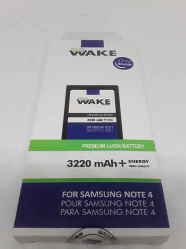 pila wake samsung note 4  100% durabilidad tienda virtual
