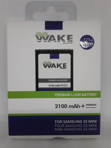 pila wake samsung s5 mini 2100 mah 100% americana   tienda