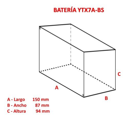 pila ytx7a-bs de gel (35 vds)