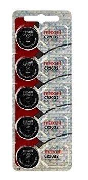 pilas 2032- 2025- 2016 maxell original en empaque  5 pilas