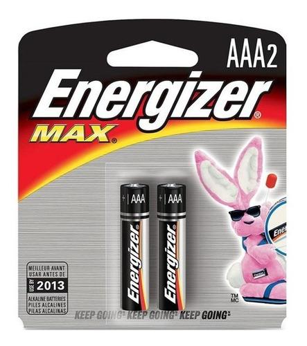 pilas aaa alcalinas energizer x2
