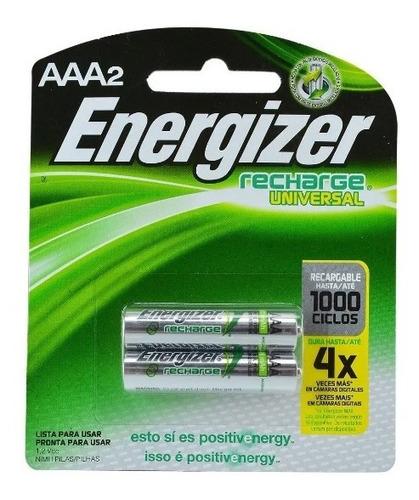 pilas aaa energizer recargables  - unidad a $6450