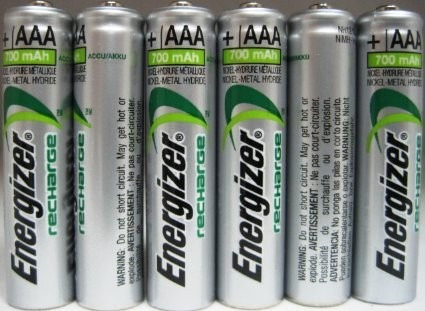 Pilas energizer aaa recargables 700 mah x2 economica for Oferta pilas recargables