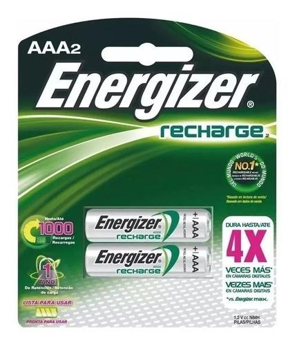 pilas aaa recargables energizer 700mah blister x 2