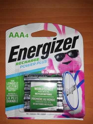 pilas aaa recargables energizer