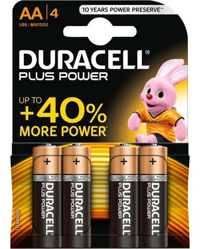 pilas alcalinas doble a y triple a duracell 1,5v