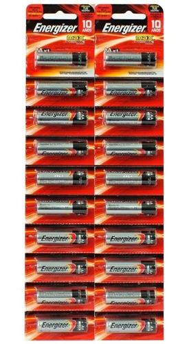 pilas alcalinas energizer max aa x48 unidades - envío gratis