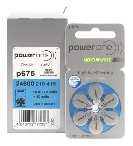 pilas auditivas p10 p312 p13 p675 power one blister de 6