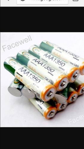 pilas batería recargables aaa  para teléfono  panasonic