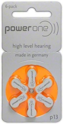 pilas baterias auditivas power one p13 p10 p312 p675