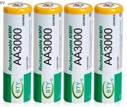 pilas baterias recargables