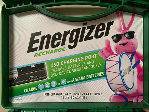 pilas baterías recargables energizer nuevo