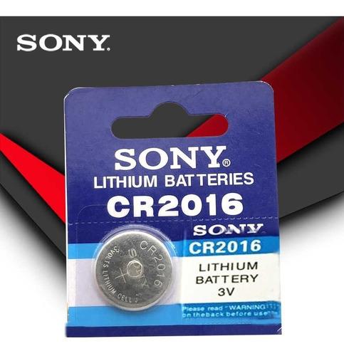 pilas baterías sony original cr2016 blister de 5