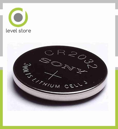 pilas boton sony cr2032 litio 3v x blister de 05 unidades