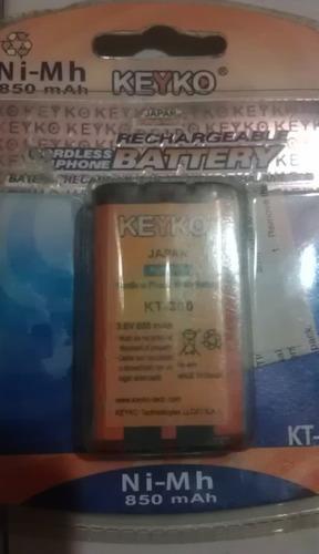 pilas de telefono inalambrico recargables kt-380  marca keyk