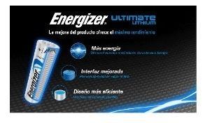 pilas energizer aa larga duración - unidad a $8450