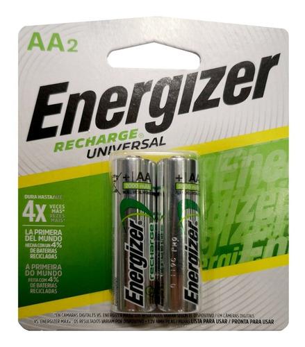 pilas energizer aa recargable