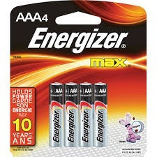 pilas energizer aaa