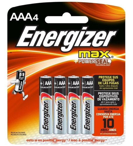 pilas energizer aaa blister x 4 unidades soundgroup palermo