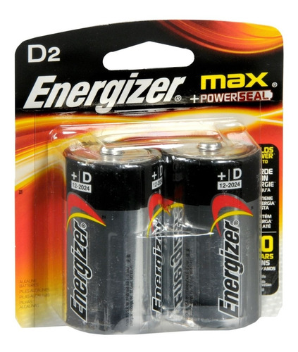 pilas energizer d grandes juguetes calefon radios x20