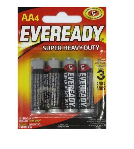 pilas eveready aa super heavy duty x 48 pilas