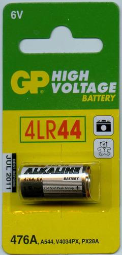 pilas gp alcalinas 4lr44 6v (px28)