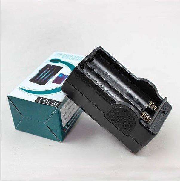 Cargador de baterias 18650 x2 2 pilas recargables - Cargador pilas recargables ...