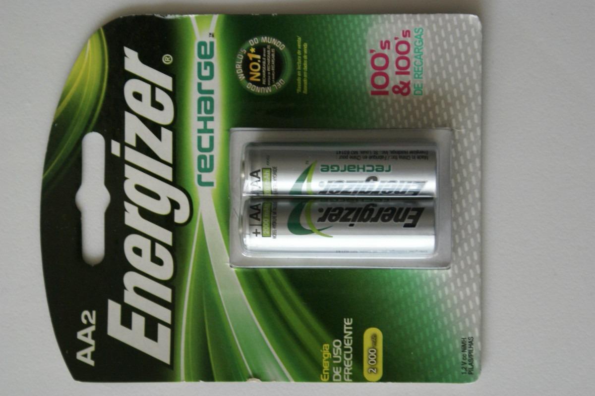 Pilas recargables aa energizer nuevas 2000 mah cc - Pilas recargables aaa ...