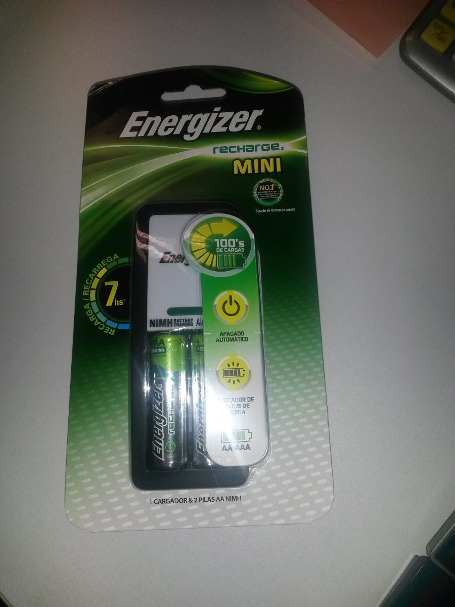 Pilas recargables energizer aa baterias cargador aaa nimh - Pilas recargables aaa ...