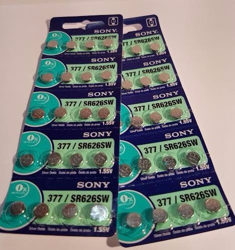 pilas sony 377/626 blister 20u original distribuidor oficial