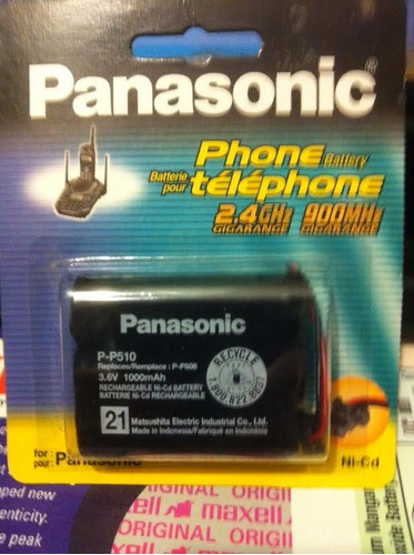 pilas telefonos panasonic sonytoshiba zte 600mah