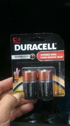 pilas tipo modelo c alkalinas duracell