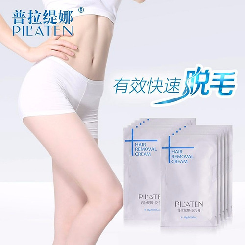 pilaten crema depilatoria 10g removedora de vello corporal
