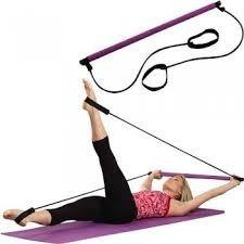 pilates empower gym barra y bandas elasticas mas dvd