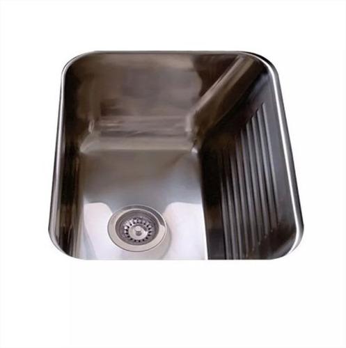 pileta bacha de lavadero johnson ln50 acero inox cuotas