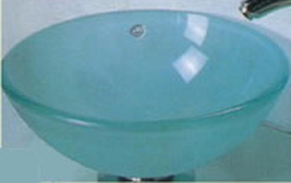 Pileta bacha de vidrio de ba o vidrio arenado u s 45 00 for Piletas para bano