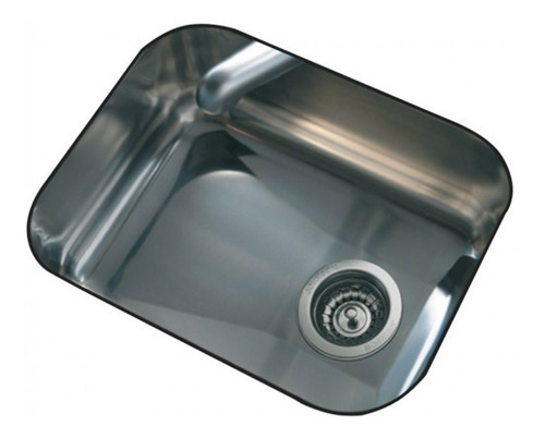 pileta bacha simple de cocina johnson e44 acero inoxidable