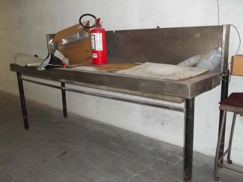 pileta de acero inoxidable - uso industrial