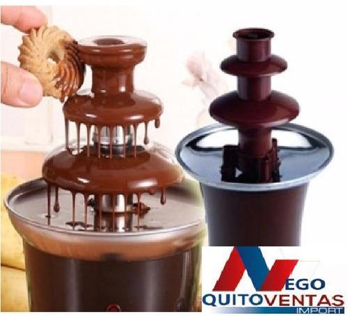 pileta de chocolate de 3 pisos fuente electrica con garantia