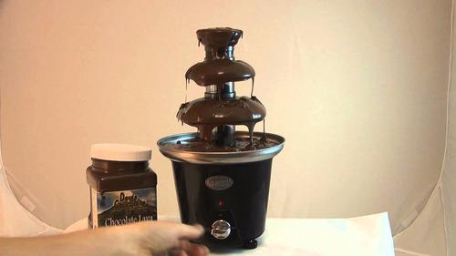 pileta de chocolate fuente de 3 pisos electrica con garantia