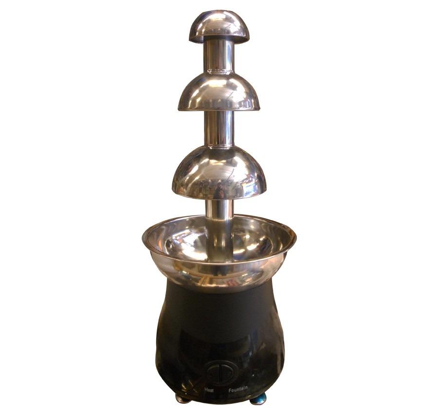 Pileta de chocolate fuente de 4 pisos electrica con for Precio instalacion electrica piso 90 metros