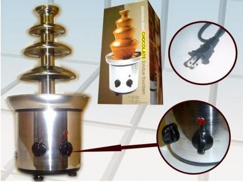 pileta  electrica de chocolate 4 pisos