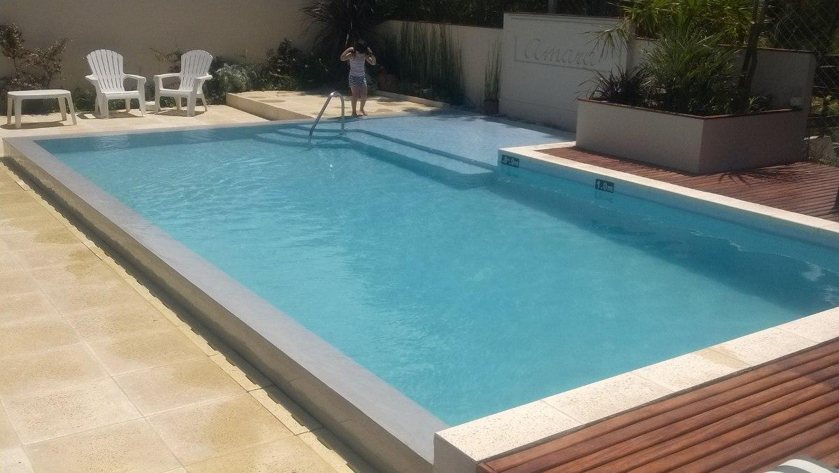 Pileta en promoci n 8x4 pileta completa en for Precio piscina gunitada 8x4