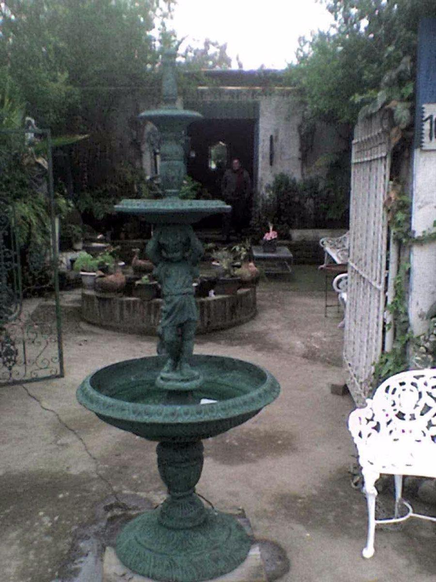 Pileta fuente de agua mts 3 platos en for Piletas de agua para jardin