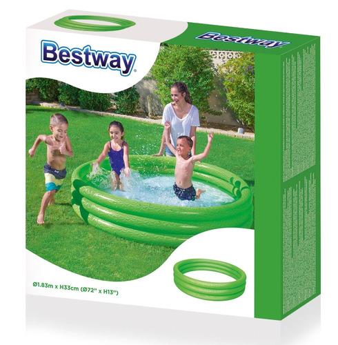 pileta infantil bestway 183 cm 3 aros 51027 planeta juguete